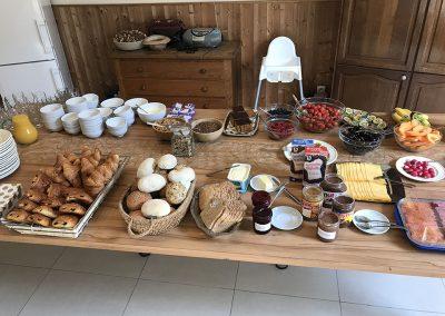 Vakantiehuis met ontbijt